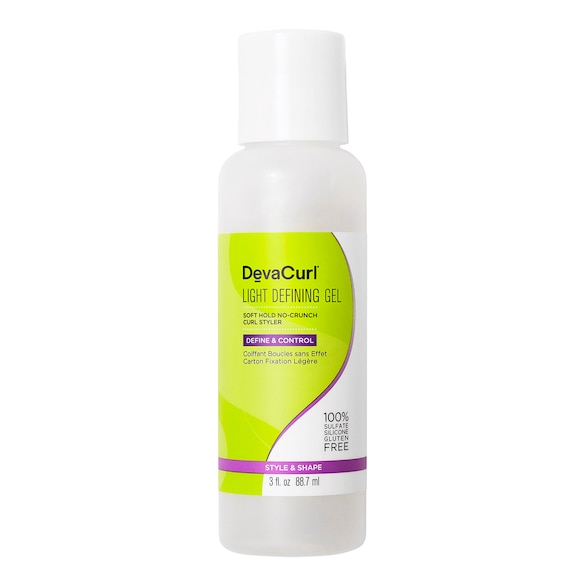 Light Defining Gel - Gel para rizos de fijación suave y aspecto natural, DEVACURL