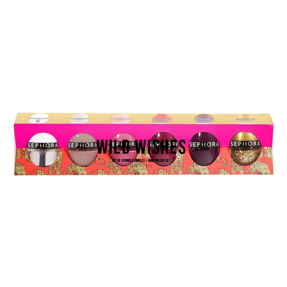 Estuche Color Hit Wild Wishes - Kit de 6 esmaltes, SEPHORA COLLECTION